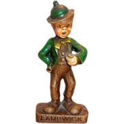 SALE Multi Products Disney Handpainted Syroco Wood Composition Lampwick Character Figurine - .