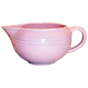 SALE Vernonware: Modern California Orchid Pink Stoneware Gravy Boat - Marked
