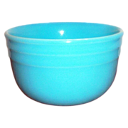 Oxford Stone Ware Turquoise Bowl - Marked