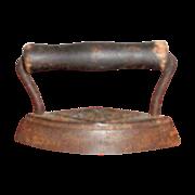 Dover Small Child's Toy Cast Iron Sad Iron - Marked