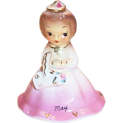 Belle Of Month: May Porcelain Birthday Lady Bell