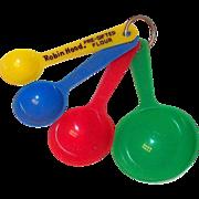 Robin Hood Flour Novelty Plastic Measuring Spoons