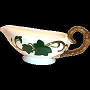 Metlox Poppytrail Ivy Hand Painted Ivy Design Porcelain Gravy Boat