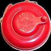 Vintage Red Plastic Zippo Utility Line