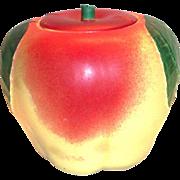 Hull Porcelain Apple Cookie Jar