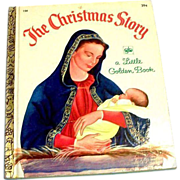 Little Golden Children's Book: The Christmas Story, #158