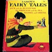 """Vintage Wonder Books: Children's """"Famous Fairy Tales"""" Book - 1949"""