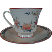 "SALE Noritake ""China Song"" Cup and Saucer - 5 Available"