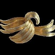 SALE Goldtone Alan J. Goldtone Brooch/Pin