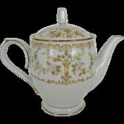 "Noritake ""Long Ago"" Teapot"