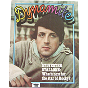 Dynamite Scholastic Magazine Featuring Sylvester Stallone - 1977