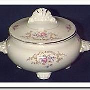 SALE Homer Laughlin Sugar Bowl & Lid - W239