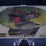 SALE Revell 1/72 Scale Sopwith Camel Model Kit - Sealed Box