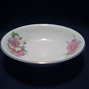 SALE Homer Laughlin Wild Pink Rose Sauce/Berry Bowls - 11 Available