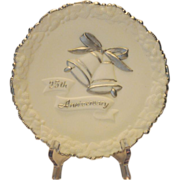 Fenton Art Glass 25th Anniversary Plate