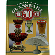 """Collectible Glassware 40 50 60"" Reference Book"