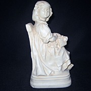 SALE Chalk Girl Bookend - Abco