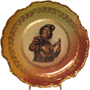 SALE German Minstrel Plate