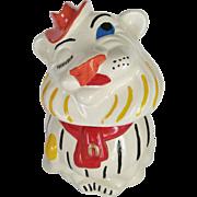 Winking Lion Cookie Jar - Belmont Pottery