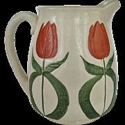 SALE Wheeling Pottery - Avon - Tulip Pitcher