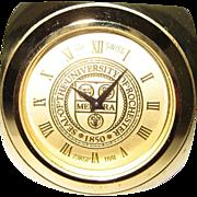 SALE Rochester University Desk Clock Cube