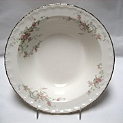 "SALE Pope Gosser China ""Jean"" 8 1/2"" Serving Bowl"