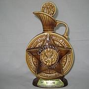 SALE Jim Beam 1968 B.P.O.E. Bourbon Whiskey Decanter