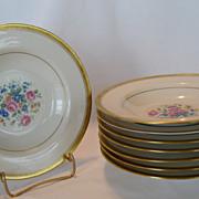 SALE Theodore Haviland New York Windsor Rimmed Soup Bowls