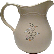 SALE Pfaltzgraff Remembrance 2 Qt. Pitcher