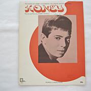 "Bobby Goldsboro ""Honey"" Sheet Music - 1968"