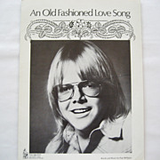 Paul Williams Sheet Music - An Old Fashioned Love Song