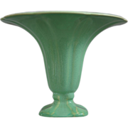 "Cowan Pottery ""Morning Glory"" Vase Ca. 1927, April Green"