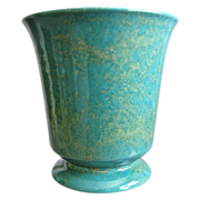 "REDUCED Large Cowan Pottery Vase #V-29, ""Azure"" Matrix Glaze, Ca. 1930"