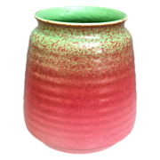 REDUCED Cowan Pottery Vase #V-34, Pistachio Glaze, Ca. 1930