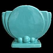 Haeger Pottery Art Deco Pillow Vase, Circa 1940