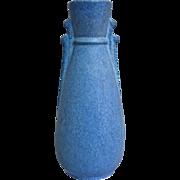 SOLD Niloak Pottery Art Deco Vase w/Label, Circa 1938