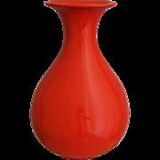 Cowan Pottery Vase #932, Feu Rouge, Circa 1929