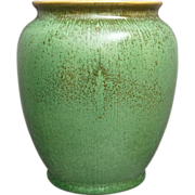 "Cowan Pottery Vase #728, ""Antique Green"" Glaze, Circa 1929"