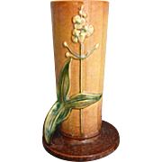 "SOLD Roseville Pottery Wincraft Vase #285-10"", Apricot, Ca. 1948"