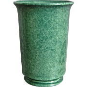 "Cowan Pottery Vase #V-2-D, ""Fir Green"" Matrix Glaze, Ca. 1930"