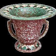 "Roseville Pottery Ferella Vase #503-5"", Red, Circa 1930"