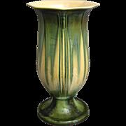 """Roseville Pottery Russco Vase #700-10"""", Green, Circa 1934"""