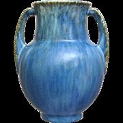 "Roseville Pottery Tourmaline Vase #679-6"", Blue, Circa 1933"