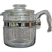 Pyrex Flameware 4 Cup Percolator