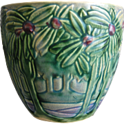 "Roseville Pottery Vista Jardiniere #589-6"", Circa 1920"