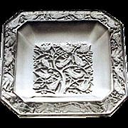 """SOLD Lalique """"Anna"""" Cendrier, Circa 1950"""