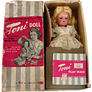 """Ideal 14"""" P90 Toni in Original Box with Wave Set"""