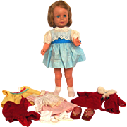 1979 Marked Mattel Chatty Cathy with Original  Outfits