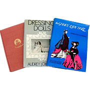3 Vintage Books on Doll Costuming