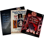 3 Vintage UFDC  Convention Souvenir Books